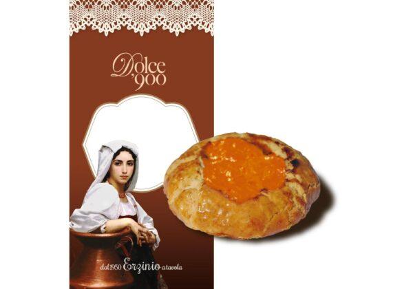 Crostatine con Albicocca Erzinio