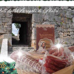 Cesto Natalizio Acropoli di Alatri