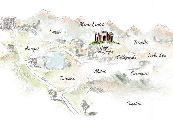 Cesto Natalizio Vico nel Lazio