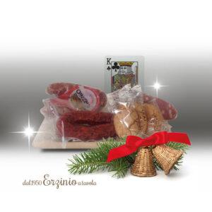 Cesto regalo natalizio Re di Fiori