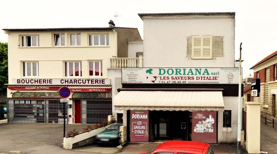 Doriana Les Saveurs D'Italie Partner Erzinio Francia
