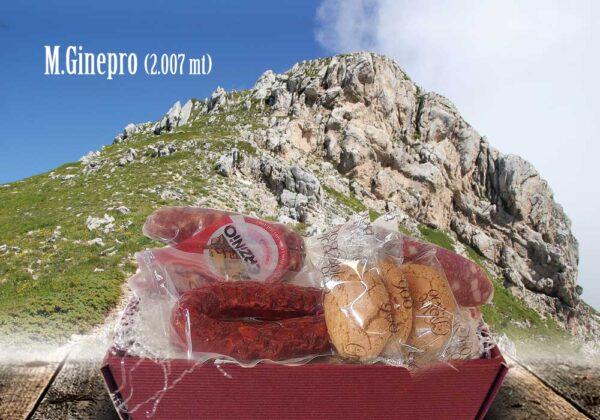 Pacco Monte Ginepro Prodotti Ciociari