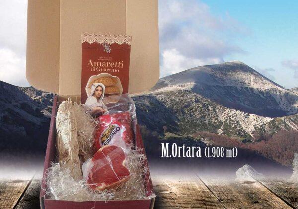 Pacco Monte Ortara Prodotti Ciociari