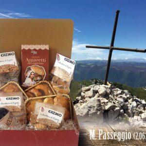 Pacco Monte Passeggio Prodotti Ciociari