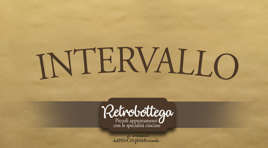 Intervallo Retrobottega