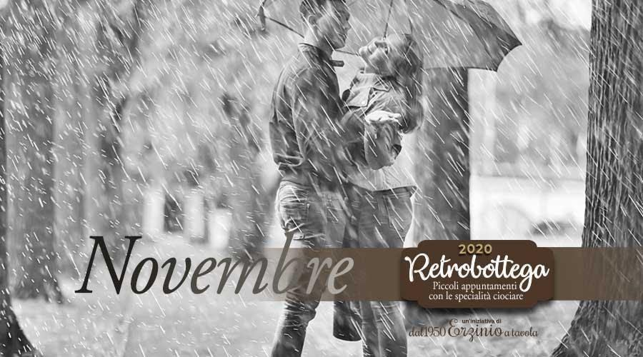 Calendario Novembre Retrobottega