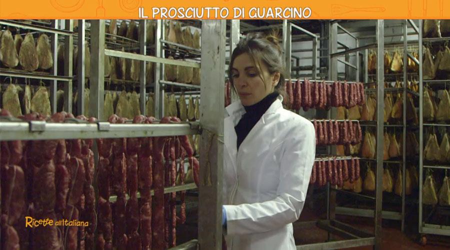 Erzinio Prosciutto Guarcino Ricette Italiana Rete4