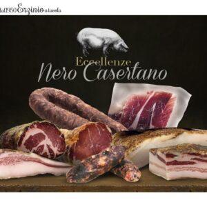 Nero Casertano Degustazione Gourmet