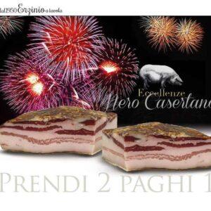 Pancetta Suino Nero Casertano Omaggio Promozione